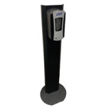 Freestanding Sanitization Stand, Black - 1 EA