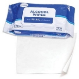 Ready-To-Use Alcohol Wipes - 50/pk