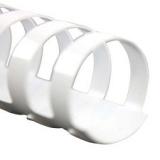 Plastic Comb Bindings (White)