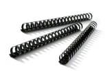 Plastic Comb Bindings (Black)