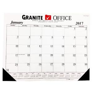 Compact Desk Calendar
