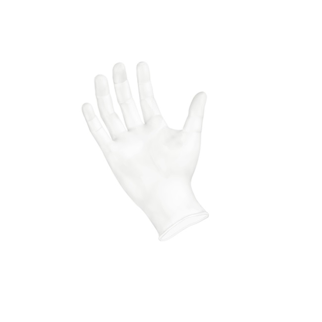 Sempermed GripStrong Vinyl Glove, Powder-Free, X-Large, Clear 100/BX